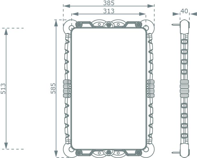 Espace particuliers jeux miroir d formant etec for Miroir deformant