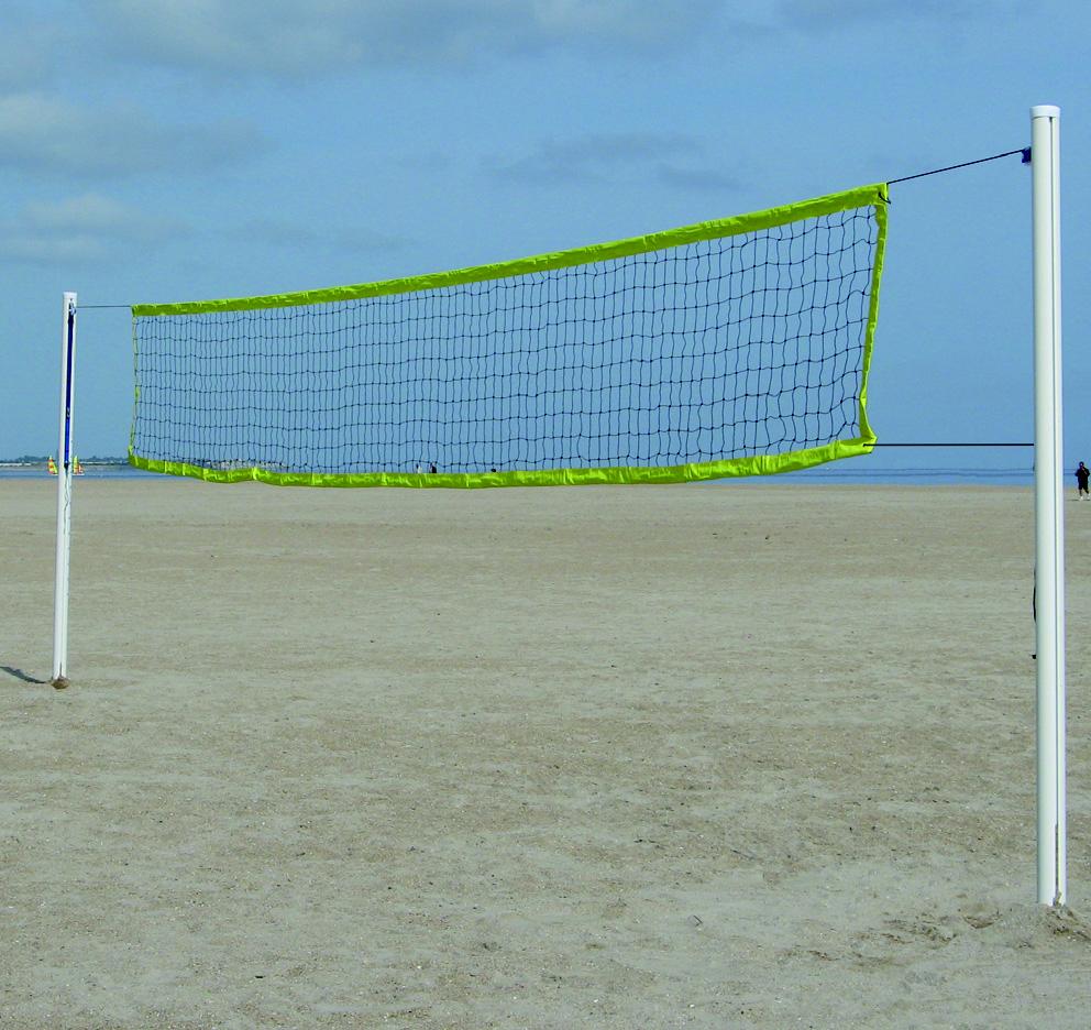 equipement sportif sports collectifs r f 112vb40415 filet de beach volley etec. Black Bedroom Furniture Sets. Home Design Ideas